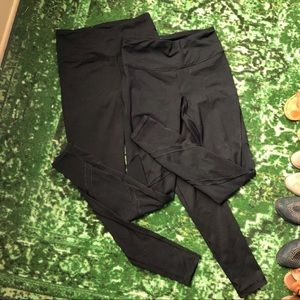 2x Victoria Secret Sport VSX Knockout Tights